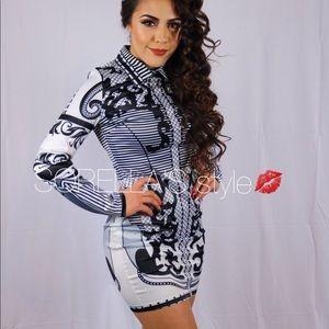 Miss Hipnotized Mini Bodycon Dress